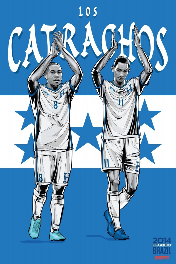 honduras-national-team-posters-world-cup