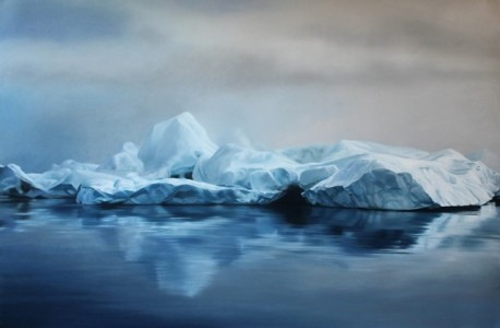 Pastel-Icebergs-by-Zaria-Forman-5-640x419